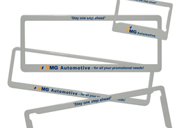 Number Plate Frames & Covers